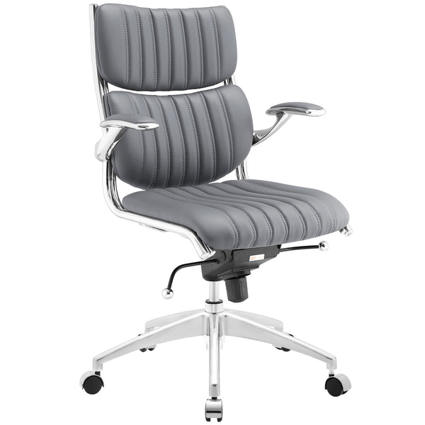Escape Mid Back Office Chair - Gray