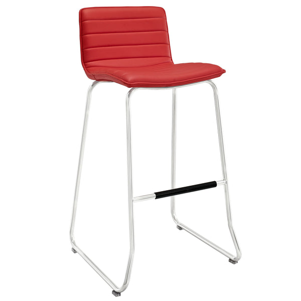 Dive Bar Stool - Red