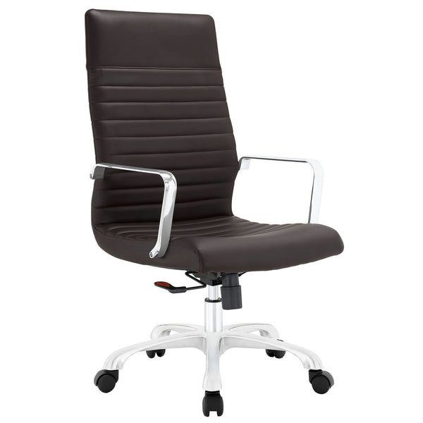 Finesse Highback Office Chair - Brown
