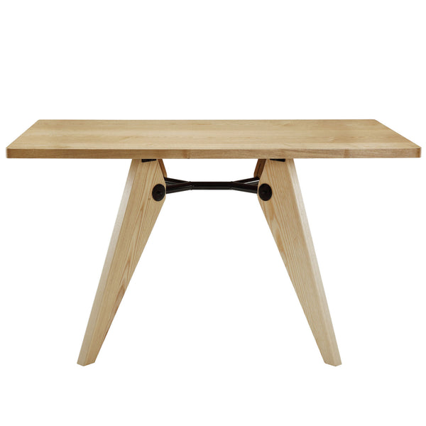 Landing Wood Dining Table - Natural