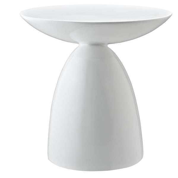 Flow Side Table - White