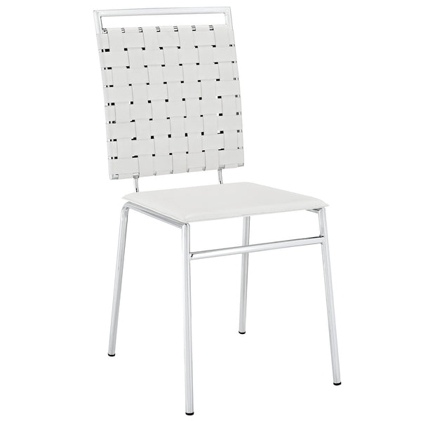 Fuse Dining Side Chair - White