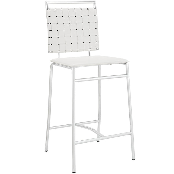 Fuse Counter Stool - White