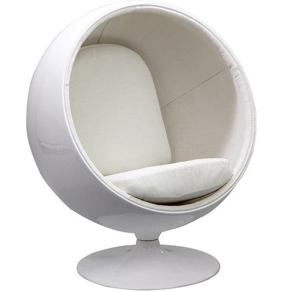 Kaddur Kids Chair - White
