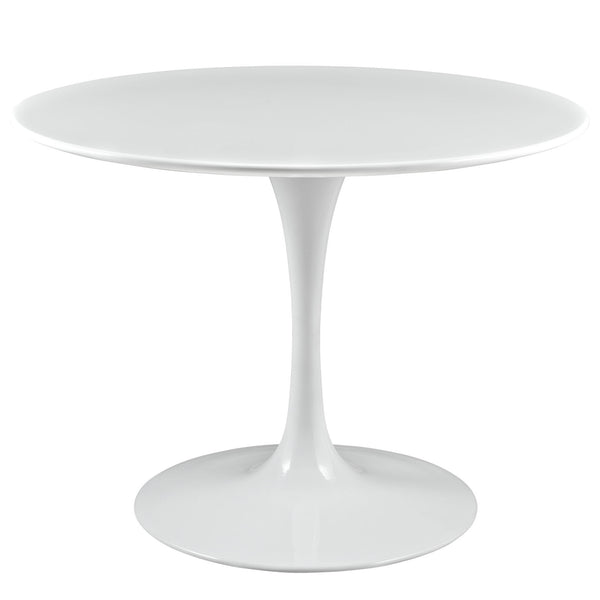 "Lippa 40"" Wood Top Dining Table - White"