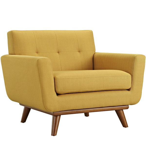 Engage Upholstered Armchair - Citrus