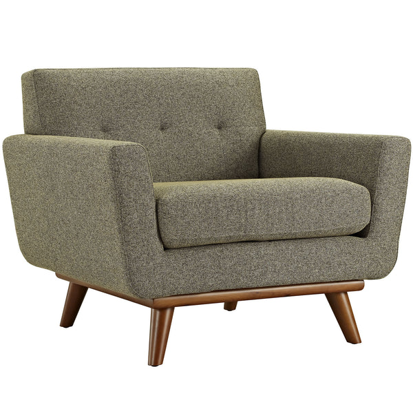Engage Upholstered Armchair - Oatmeal
