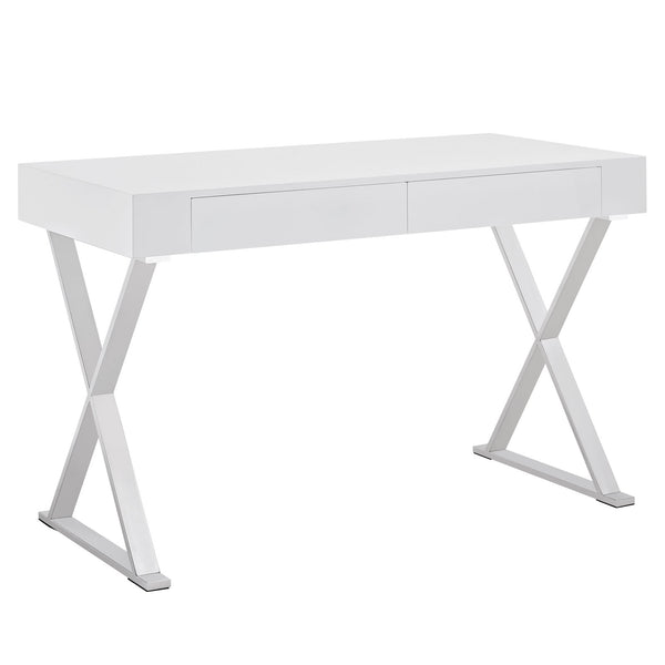 Sector Office Desk - White