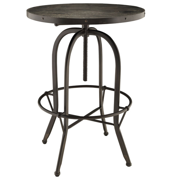 Sylvan Wood Top Bar Table - Black
