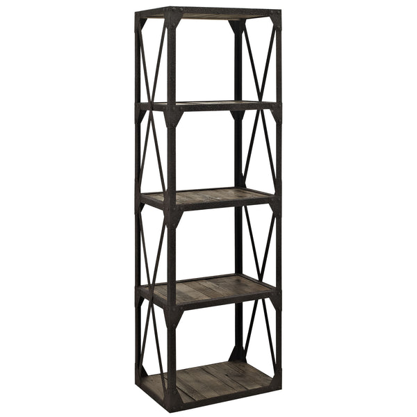 Stave Bookshelf - Brown