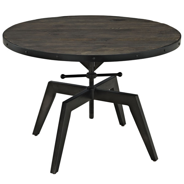 Grasp Wood Top Coffee Table - Black