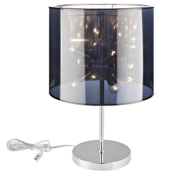 Arena Table Lamp - Silver