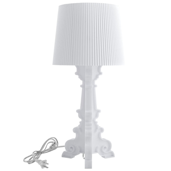 French Petite Table Lamp - White