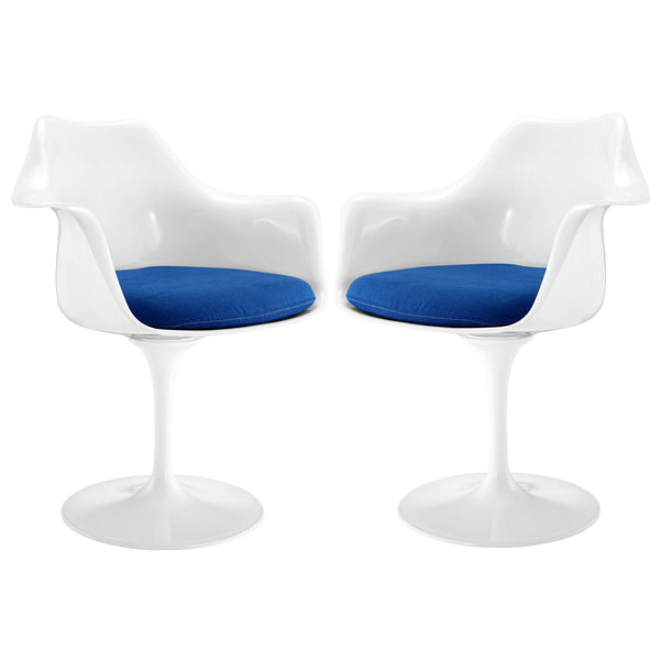 Lippa Dining Armchair Set of 2 - Blue