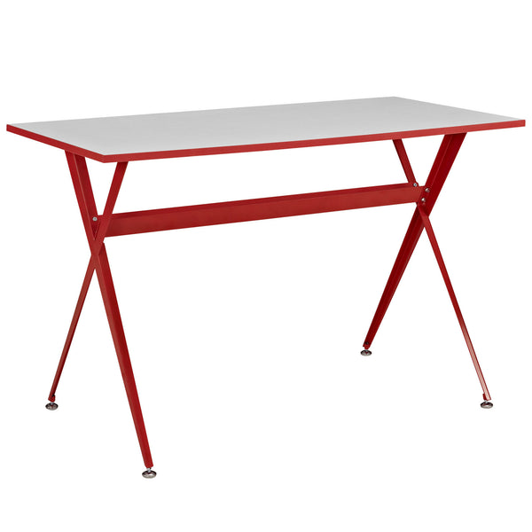 Expound Office Desk - Red