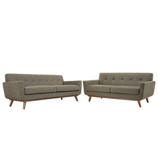 Engage Loveseat and Sofa Set of 2 - Oat