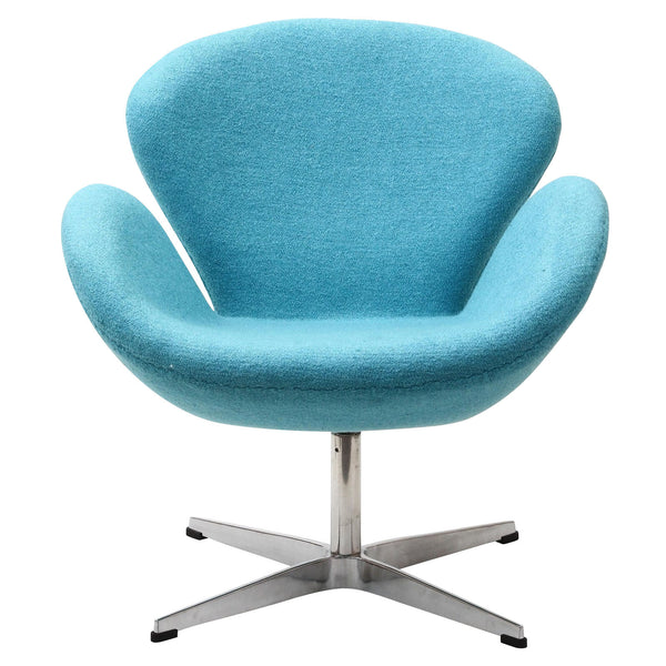 Wing Lounge Chair - Baby Blue