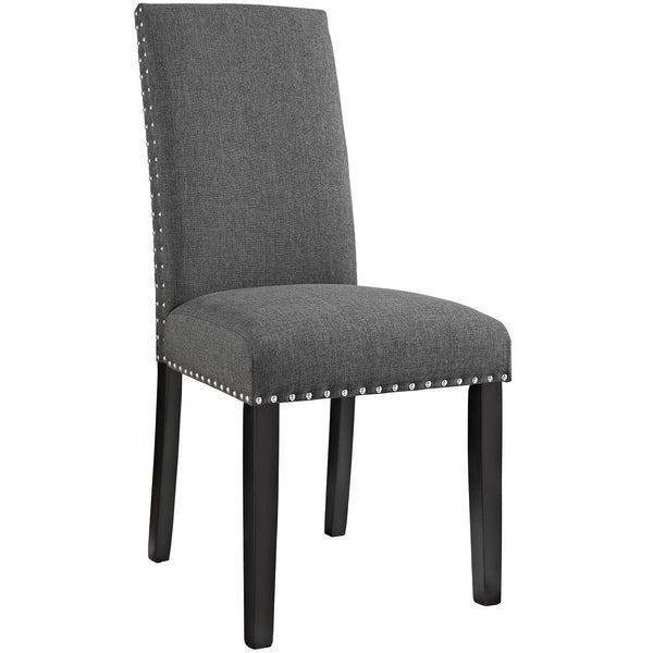 Parcel Dining Fabric Side Chair - Gray