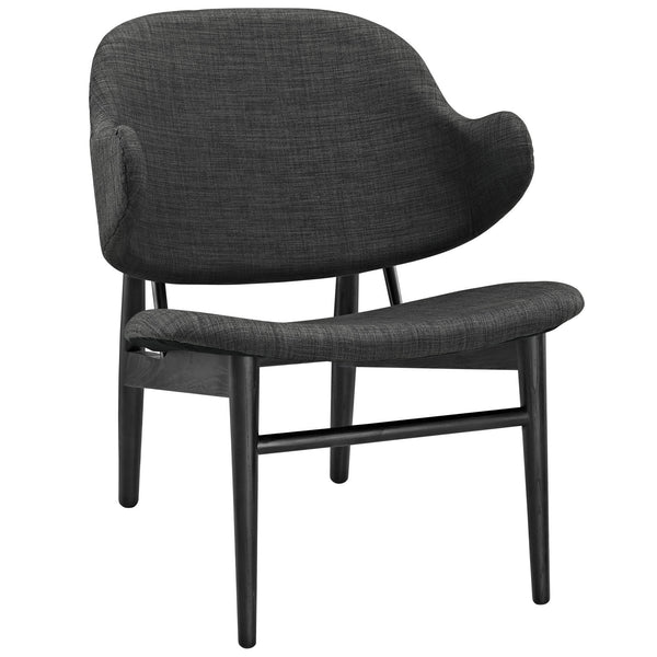 Suffuse Lounge Chair - Black Gray