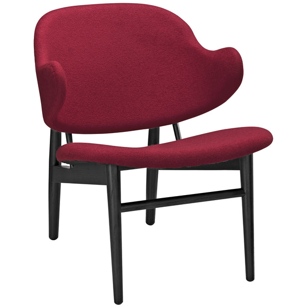 Suffuse Lounge Chair - Black Red