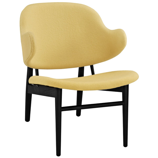 Suffuse Lounge Chair - Black Yellow