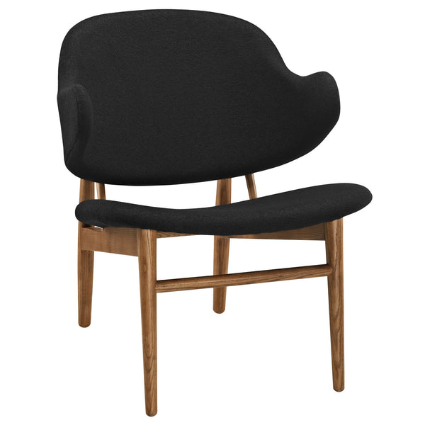 Suffuse Lounge Chair - Maple Black