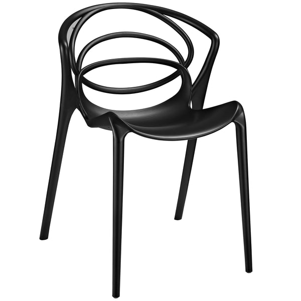 Locus Dining Side Chair - Black