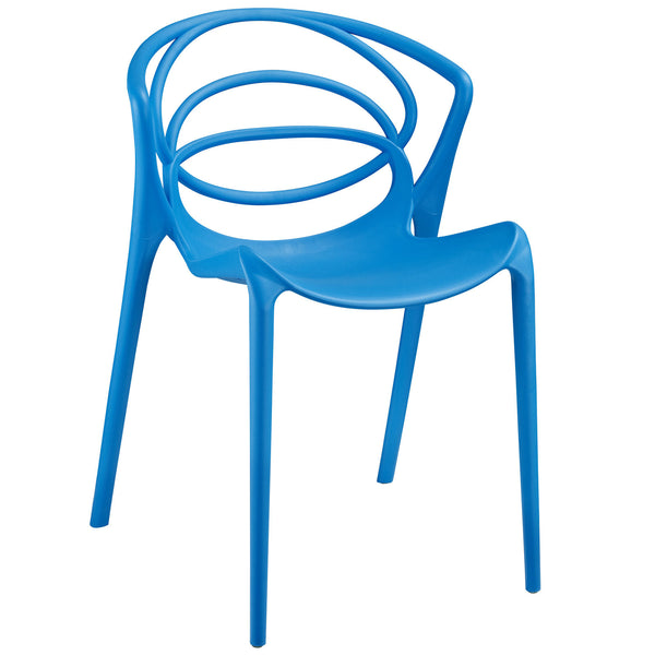 Locus Dining Side Chair - Blue