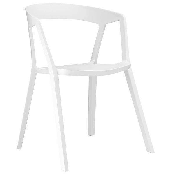 Tread Dining Armchair - White