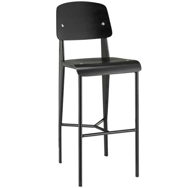 Cabin Bar Stool - Black Black