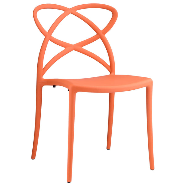 Enact Dining Side Chair - Orange