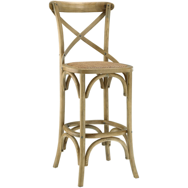 Gear Bar Stool - Natural
