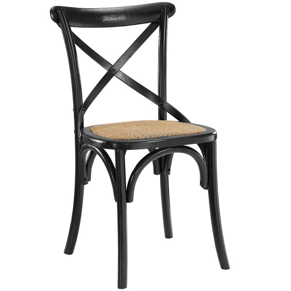 Gear Dining Side Chair - Black