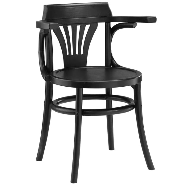 Stretch Dining Side Chair - Black