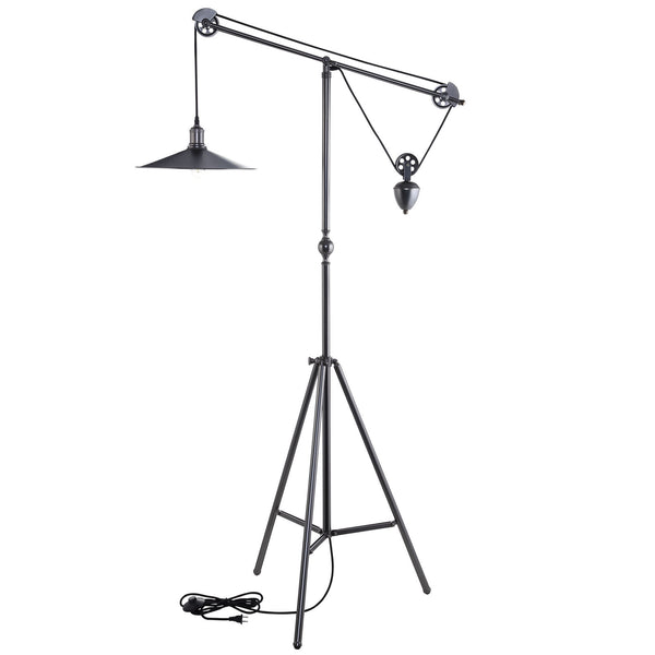 Credence Floor Lamp - Silver