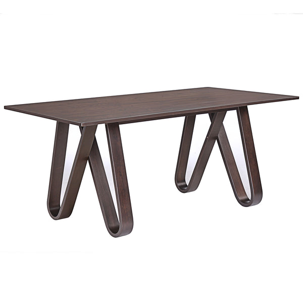 Cision Dining Table - Walnut