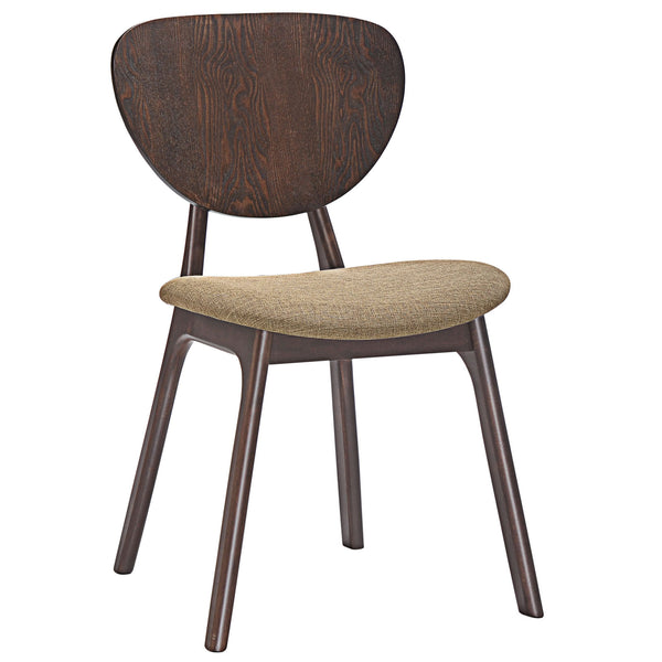 Murmur Dining Side Chair - Walnut Latte