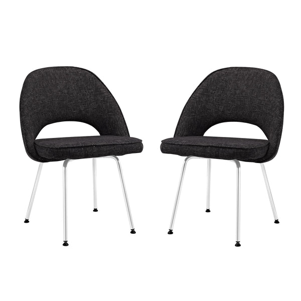 Cordelia Dining Chairs Set of 2 - Black