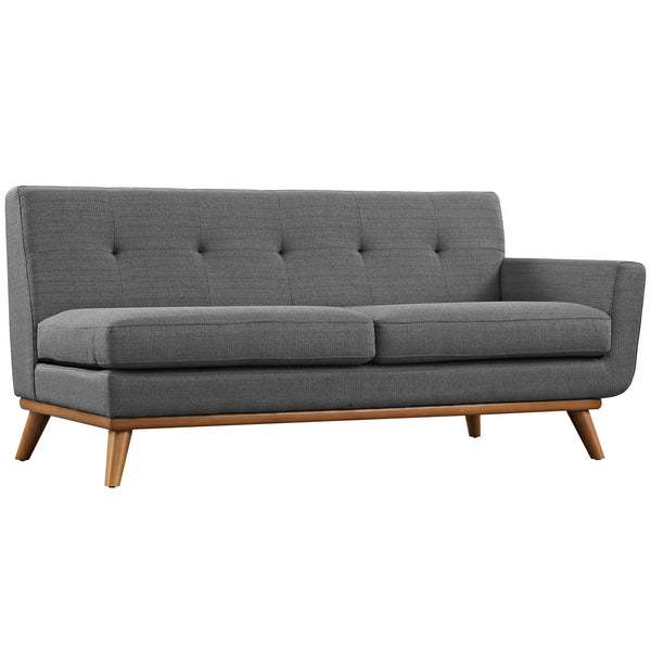Engage Right-Arm Loveseat - Gray