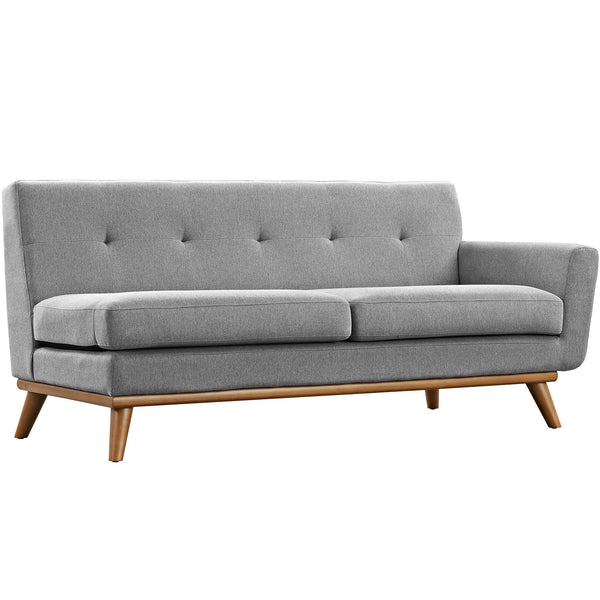 Engage Right-Arm Loveseat - Expectation Gray