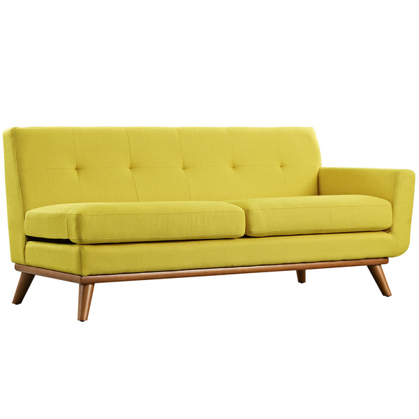 Engage Right-Arm Loveseat - Sunny