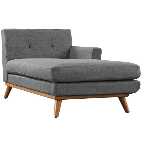 Engage Right-Arm Chaise - Gray