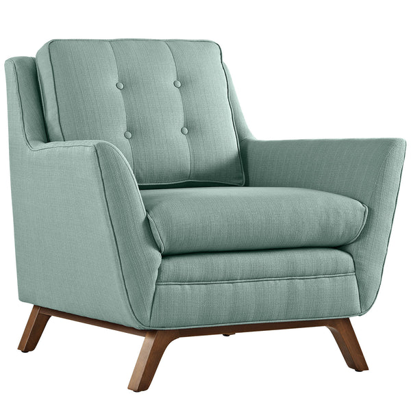 Beguile Fabric Armchair - Laguna