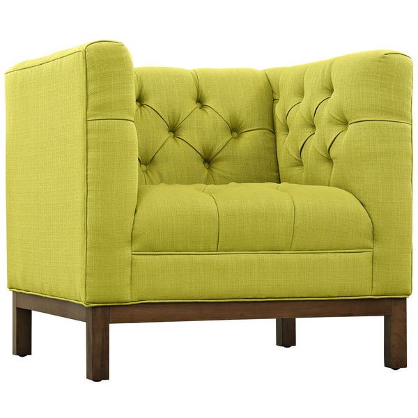 Panache Fabric Armchair - Wheatgrass