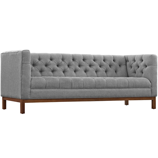 Panache Fabric Sofa - Expectation Gray