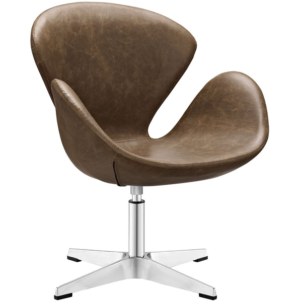 Flight Lounge Chair - Brown