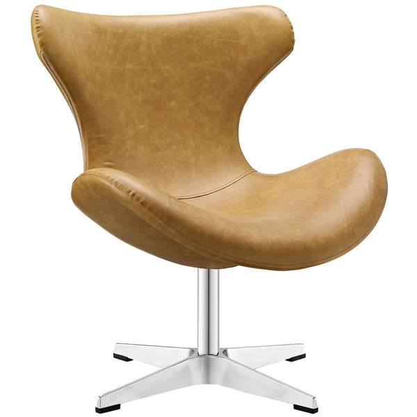Helm Lounge Chair - Tan