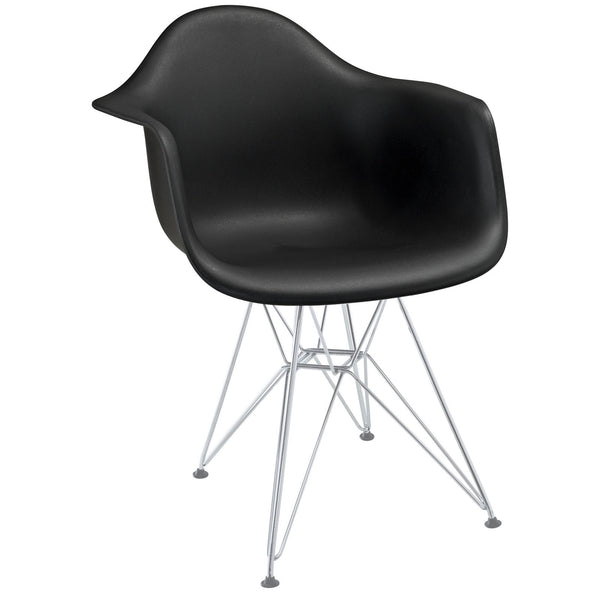 Paris Dining Armchair - Black