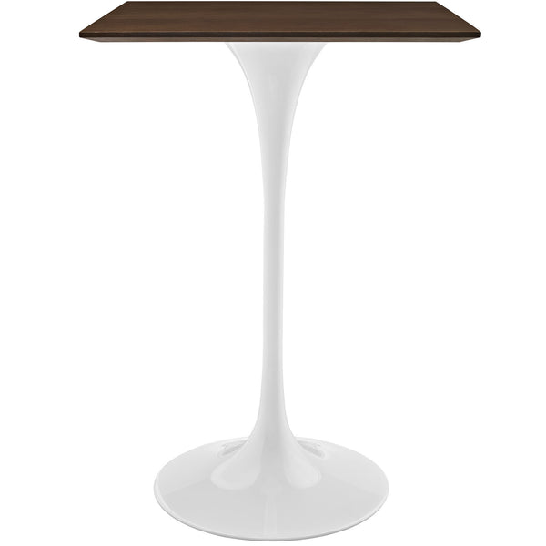 "Lippa 28"" Walnut Bar Table - Walnut"