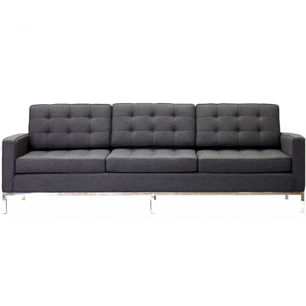 Loft Wool Sofa - Dark Gray